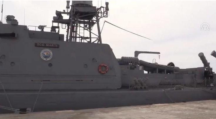 Οι πιο ισχυρές φρεγάτες της Τουρκίας στη Μαύρη Θάλασσα