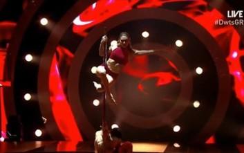 Η καυτή εμφάνιση της Ευρυδίκης Βαλαβάνη στο Dancing with the Stars