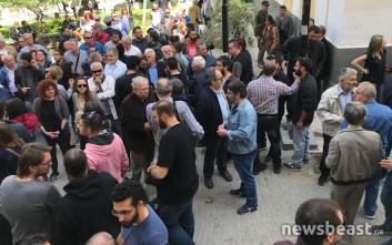 Διαμαρτυρία του ΠΑΜΕ στην Ευελπίδων για τους συλληφθέντες