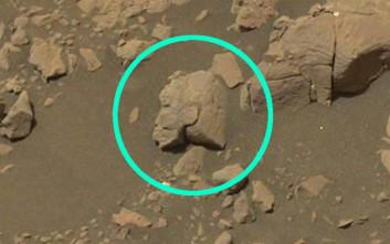 Η τελευταία φωτογραφία της NASA από τον Άρη που προκαλεί αναταραχή