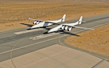 Το μεγαλύτερο αεροσκάφος του κόσμου είναι έτοιμο να κατακτήσει τους αιθέρες