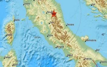 Σεισμός στην Περούτζια της Ιταλίας