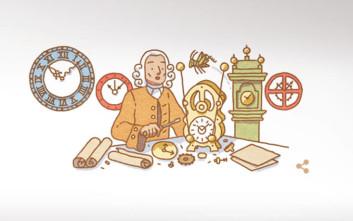 Τζον Χάρισον: Η Google τιμάει με Doodle τον αυτοδίδακτο ωρολογοποιό και ξυλουργό