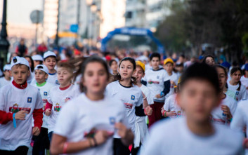 Η εταιρία ΜΠΑΡΜΠΑ ΣΤΑΘΗΣ μαζί με δύο χιλιάδες παιδιά στον Παιδικό Αγώνα Δρόμου «ΜΕΓΑΣ ΑΛΕΞΑΝΔΡΟΣ»