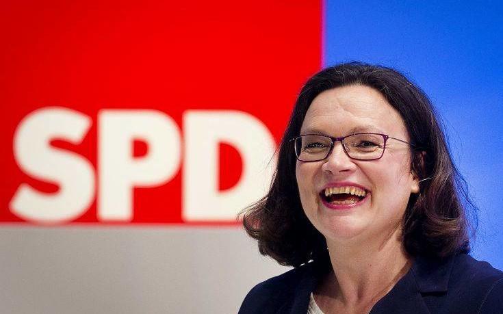 Νάλες: Θέλω να αποδείξω ότι μπορούμε να ανανεώσουμε το SPD ακόμη και στην κυβέρνηση