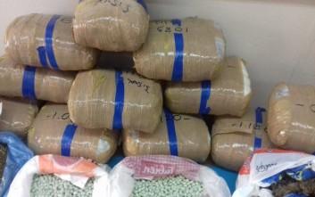 Εξαρθρώθηκε εγκληματική οργάνωση που διακινούσε μεγάλες ποσότητες ναρκωτικών