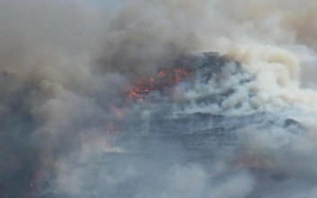 Μεγάλη πυρκαγιά ξέσπασε στη Νάξο