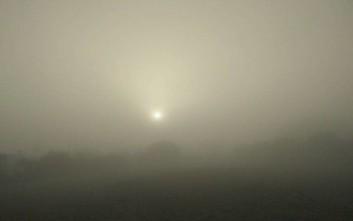 Τοπίο στην... ομίχλη το Ηράκλειο Κρήτης