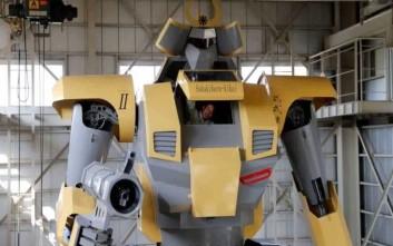 Το γιγάντιο ρομπότ Mononofu με ύψος 8,5 μέτρα και βάρος επτά τόνους