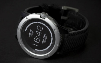 Το έξυπνο ρολόι που τροφοδοτείται από τη θερμότητα του σώματος