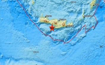 Σεισμός στο Ηράκλειο Κρήτης