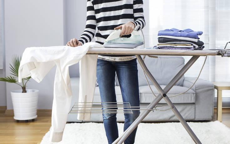 Τρία λάθη που γίνονται στο σιδέρωμα