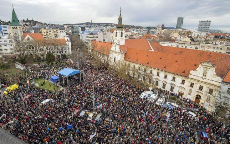 Σλοβάκος υπουργός παραιτείται για να μην απολύσει τον αρχηγό της αστυνομίας
