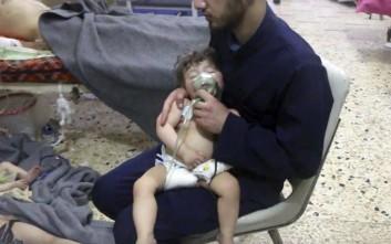 Οι ΗΠΑ ζητούν την καταδίκη της «χημικής τρομοκρατίας» της συριακής κυβέρνησης