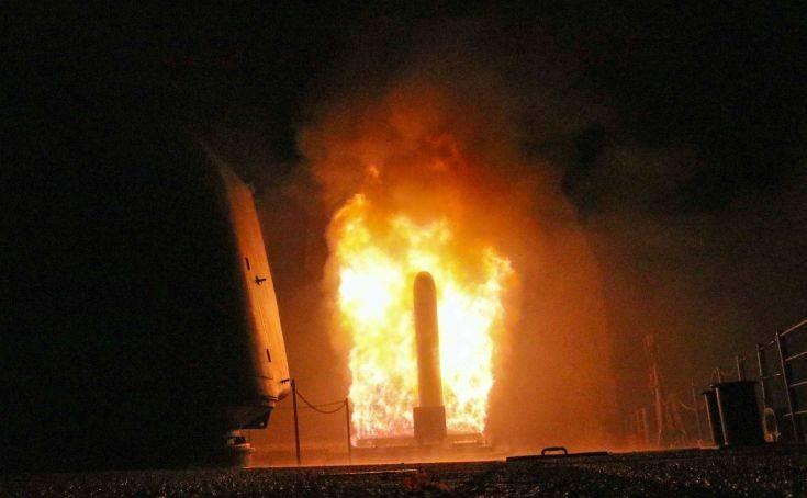 Στη Μόσχα για μελέτη δύο πύραυλοι από την επίθεση ΗΠΑ και συμμάχων στη Συρία