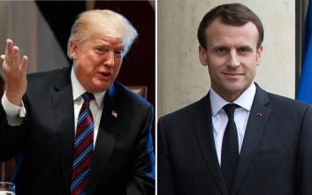 Συνομιλία Τραμπ- Μακρόν για την απόσυρση των αμερικανικών δυνάμεων από τη Συρία