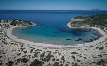 Μία από τις ωραιότερες παραλίες της Μεσογείου είναι στη Μεσσηνία