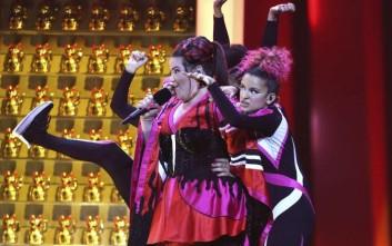 Η... τούμπα της εκπροσώπου του Ισραήλ στη Eurovision