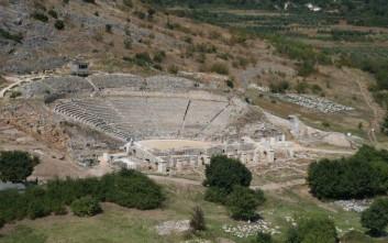 Ο αρχαιολογικός χώρος Φιλίππων Καβάλας «ταξιδεύει» στη Νέα Υόρκη