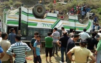 Πολύνεκρο δυστύχημα με λεωφορείο στην Ινδία