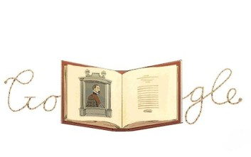 Ο Αβραάμ Ορτέλιους στο Doodle της Google