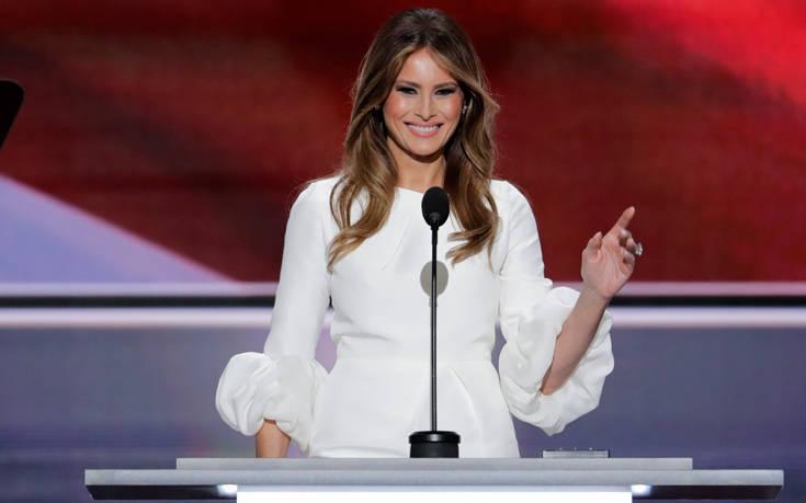 Η Μελάνια Τραμπ προειδοποιεί για τους κινδύνους των social media για τα παιδιά