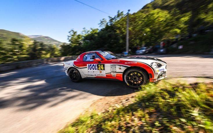 Βελτιώνονται τα αγωνιστικά Abarth 124 rally