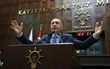 Ο Ερντογάν προειδοποιεί: Μη μας φέρνετε σε δύσκολη θέση