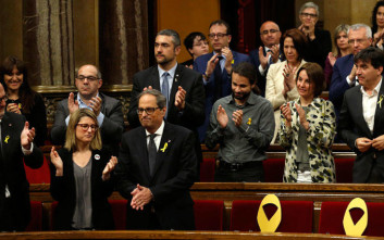 Στο «σκαμνί» 18 στελέχη του αυτονομιστικού κινήματος της Καταλονίας