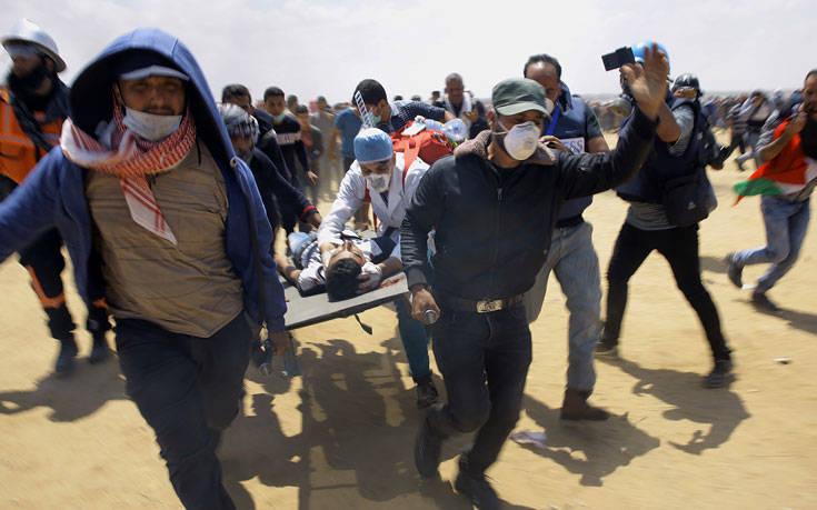Σκοτώθηκε 20χρονος Παλαιστίνιος από ισραηλινά πυρά στη Λωρίδα της Γάζας