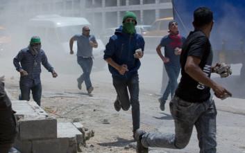 Μέι: Η Βρετανία ανησυχεί για τους θανάτους διαδηλωτών στη Γάζα