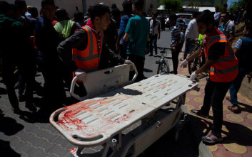 Με αίμα βάφτηκε και πάλι η Λωρίδα της Γάζας