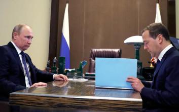 Αυτή είναι η σύνθεση της νέας κυβέρνησης της Ρωσίας