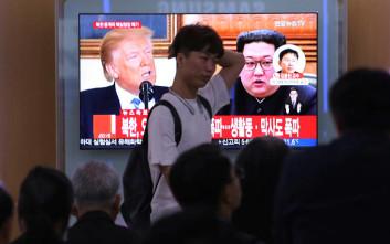 Ο Κιμ Γιονγκ Ουν καταγγέλλει τις «ληστρικές» κυρώσεις των ΗΠΑ