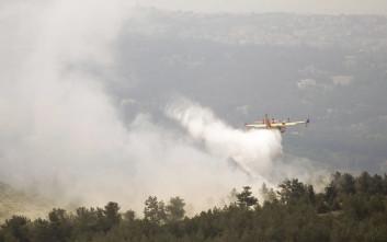 Άσκηση για την κατάσβεση πυρκαγιάς στο Σέιχ Σου
