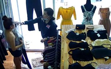 Τι μπορεί να συμβεί από το πουθενά σε ένα μαγαζί με γυναικεία ρούχα