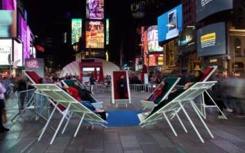 Διαλογισμός στην… Times Square