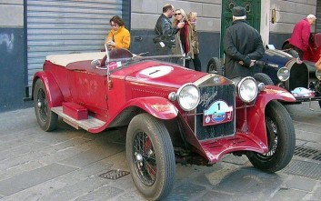 Η αναβίωση του θρύλου στον αγώνα Mille Miglia