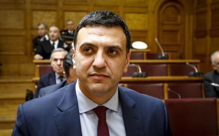 Κικίλιας: Δεν δεχόμαστε οικονομικά ανταλλάγματα για λύση στο Σκοπιανό