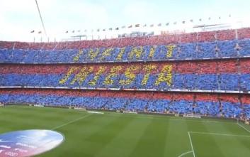 Το συγκλονιστικό «αντίο» του Ινιέστα στη Βαρκελώνη