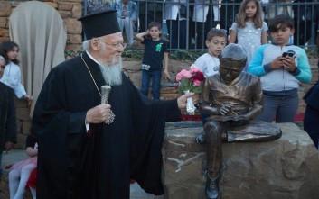 Πατριάρχης Βαρθολομαίος: Συγκινούμαι όταν επιστρέφω στην Ίμβρο