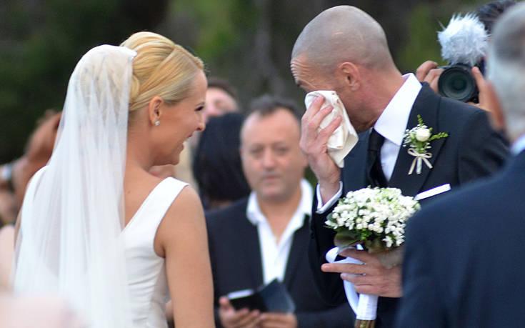 Παντρεύτηκαν η Έλενα Ασημακοπούλου και ο Μπρούνο Τσιρίλο