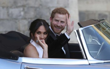 Η ιστορία της πανάκριβης μπλε Jaguar που οδήγησε ο πρίγκιπας Χάρι μετά το γάμο του