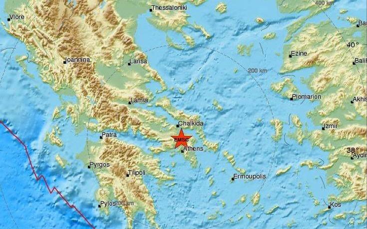 Σεισμός τώρα στην Αττική