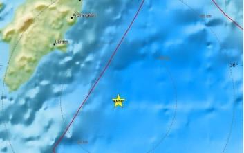 Σεισμός τώρα νοτιοανατολικά της Ρόδου