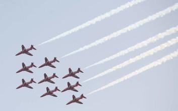 Mirage και Red Arrows θα πετάξουν στον Φλοίσβο για τον Κάρολο και τον Μπαλταδώρο
