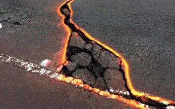 Δύο νέα ρήγματα κοντά στο ηφαίστειο Κιλαουέα στη Χαβάη