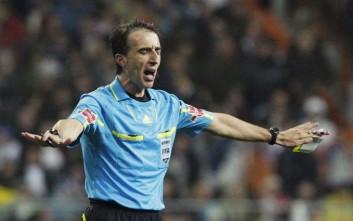 Ο Μπορμπαλάν από την Ισπανία θα σφυρίξει στον τελικό Κυπέλλου