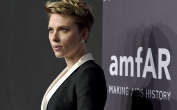 Scarlett Johansson attends amfAR's Fashion Week New York Gala at Cipriani Wall Street on Wednesday, Feb. 8, 2017, in New York. (Photo by Evan Agostini/Invision/AP)