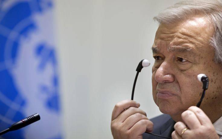 Γκουτέρες: Ζωντανές οι προοπτικές για συνολική διευθέτηση του Κυπριακού